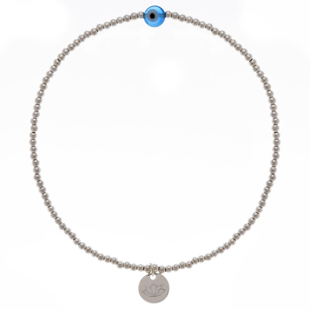Luv & Bart Angelique Anklet Silver