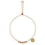 Luv & Bart Gold Star Bracelet | Sand Dollar UK