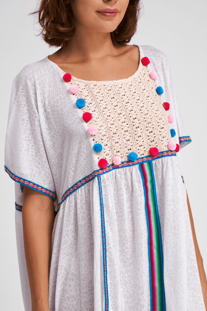 loose fit gypsy style summer dress