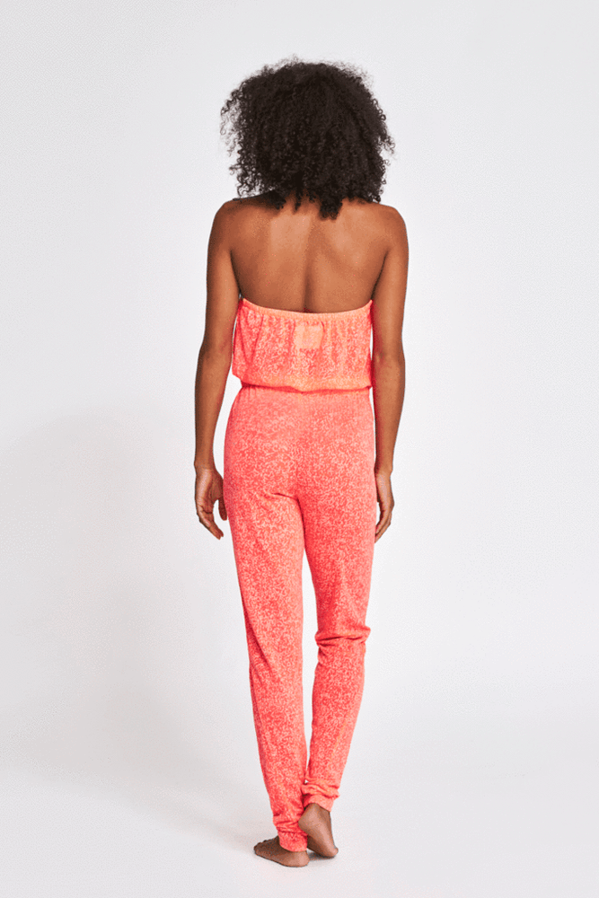 Sleeveless Jumpsuit | Halter Neck Jumpsuit | Sand Dollar UK