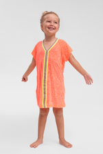 Kids Beach Cover Up in Pink Watermelon