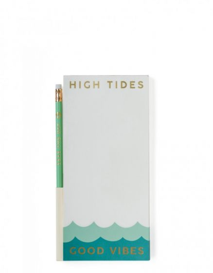 Ocean Themed Magnetic Shopping List Pad | Sand Dollar UK