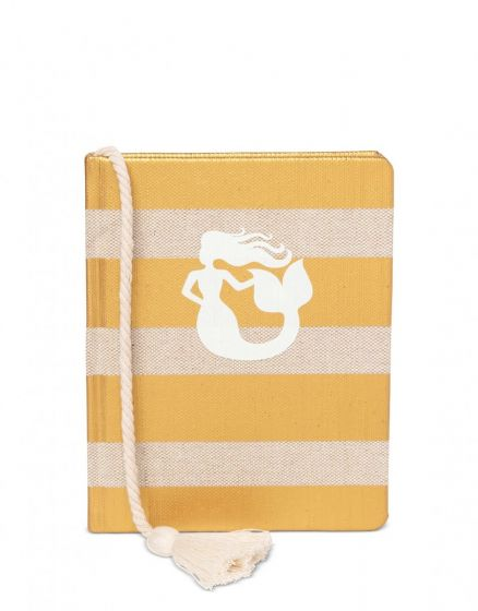 Spartina Ruled Hardback Book Mermaid Stripe