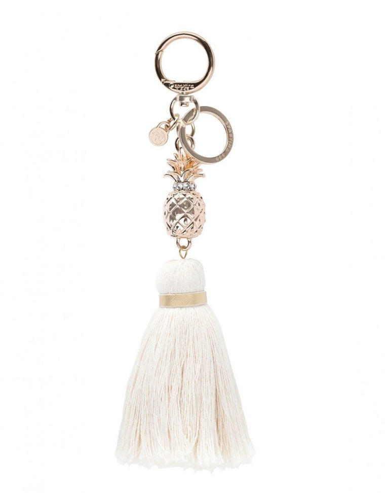 Spartina Bag Charm Pineapple Tassel
