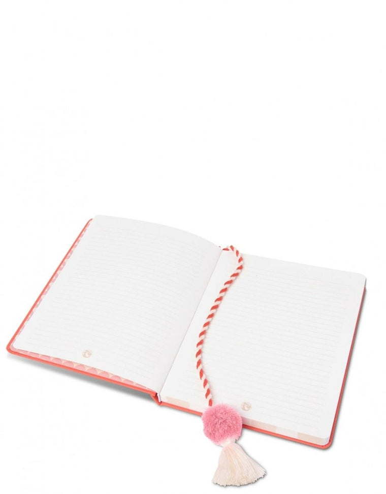 Orange Mermaid Notebook for Girls