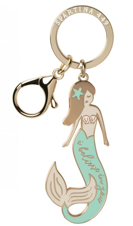 Spartina Bag Charm Mermaid Believe