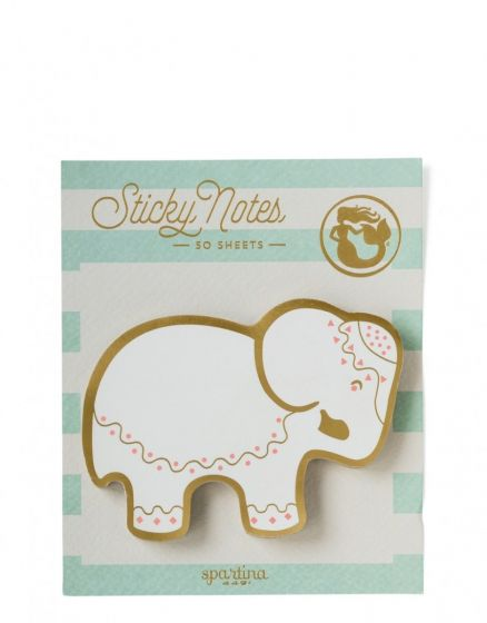 Spartina Sticky Note pad Elephant