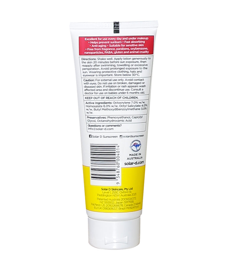 SPF 50+ Daily Face Tube 100ml