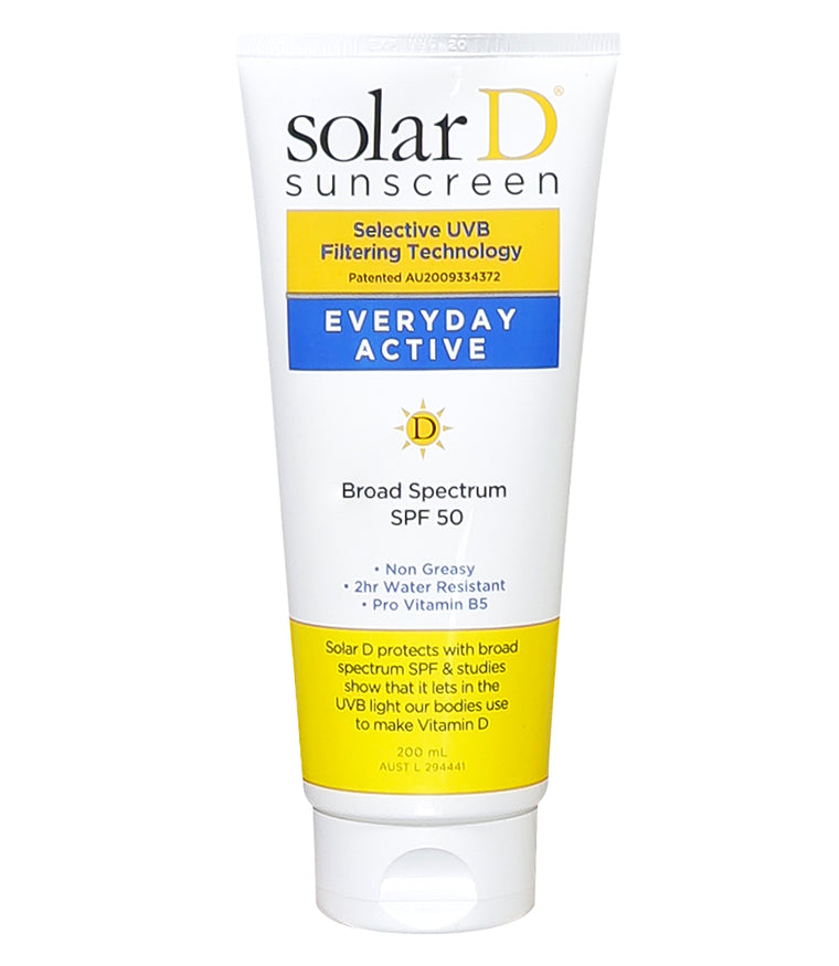 SPF 50+ Everyday Active 200ml Tube