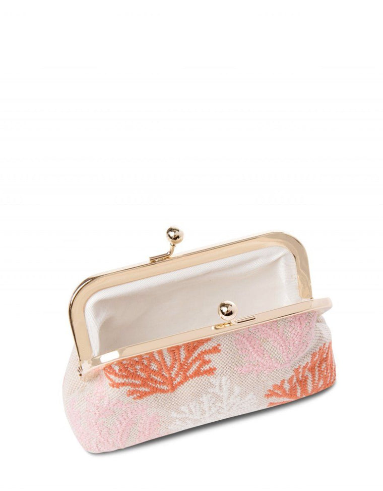 Coral Reef Print Coin Purse | Sand Dollar UK