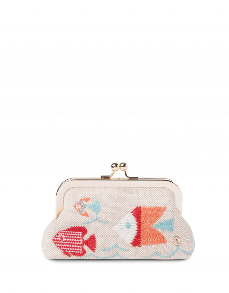 Spartina Cordelia Coin Purse Fish