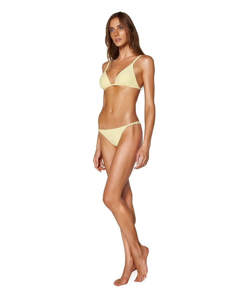 brazilian cut bikini in yellow