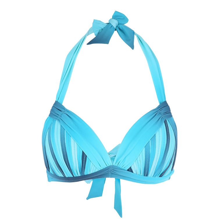 Blue Ombre Bikini with Removable Padding