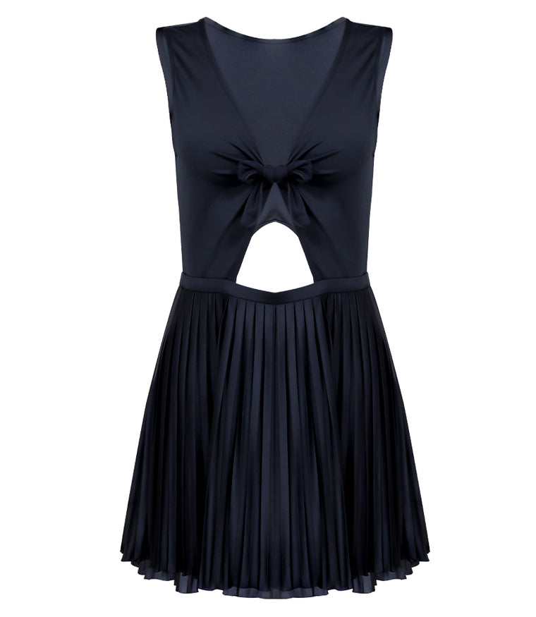 a4fca671013 Sunseeker Pleated Sunrise Pleated Cut-Out Dress