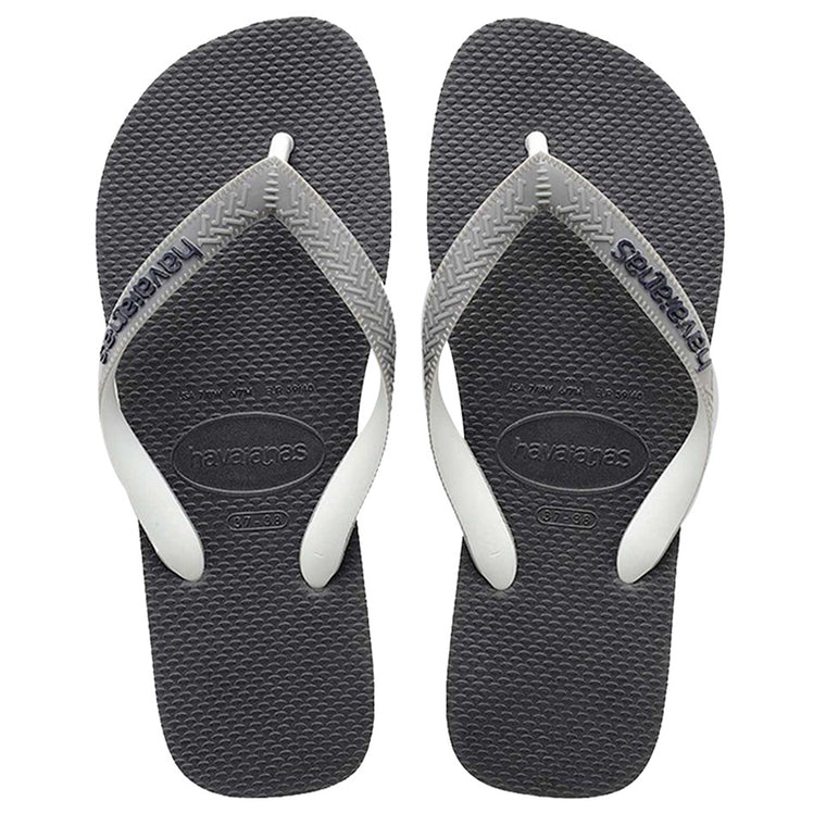Mens Top Mix Flip Flops Graphite/Grey