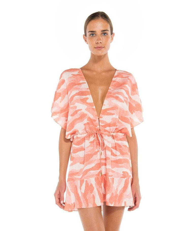 Camu Callie Caftan Light Pink