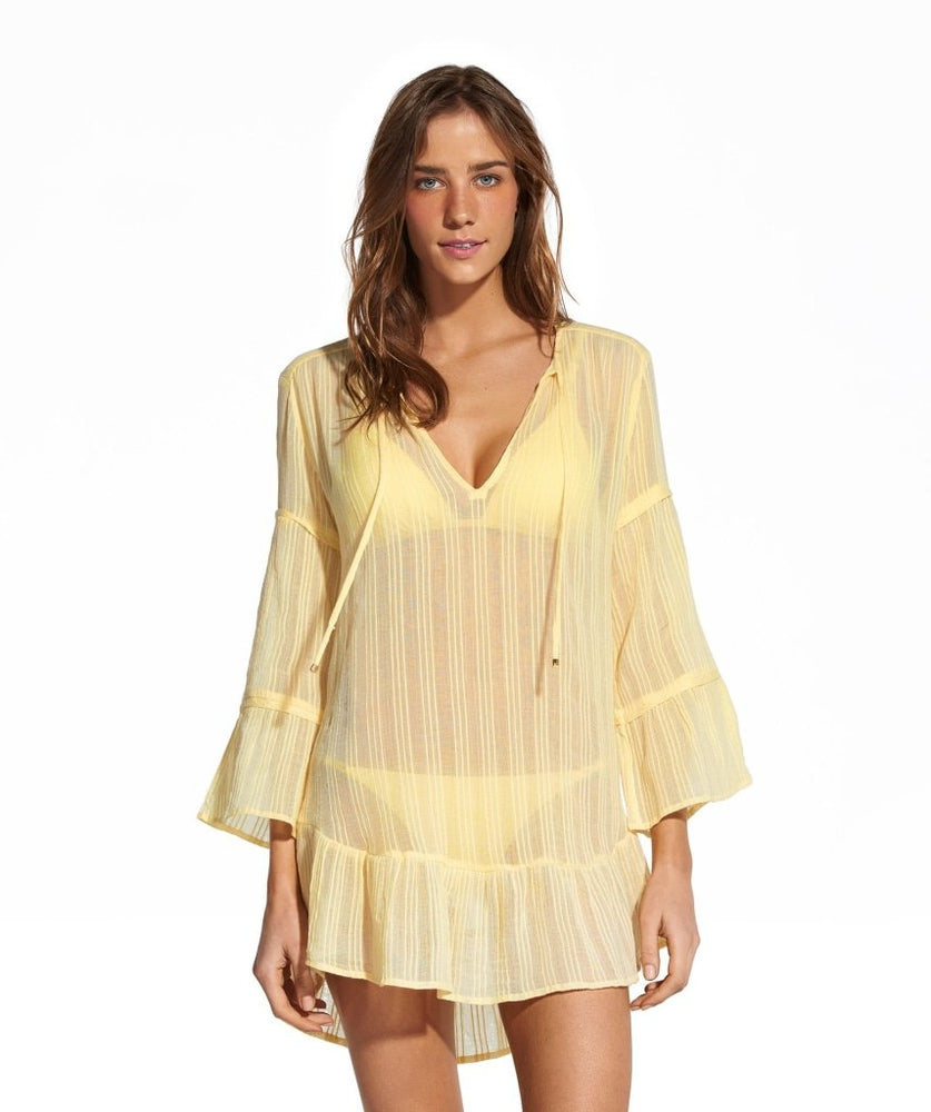 Tunic Shirt in Yellow