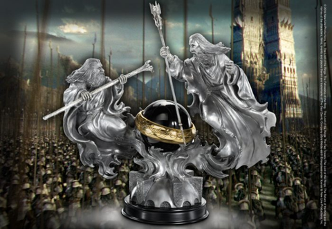 Battle of the Wizards Sculpture