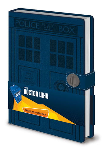 TARDIS A5 Premium Notebook