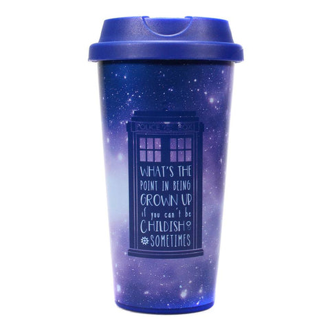 TARDIS Galaxy Travel Mug