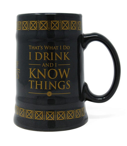 I Drink & I Know Things Stein