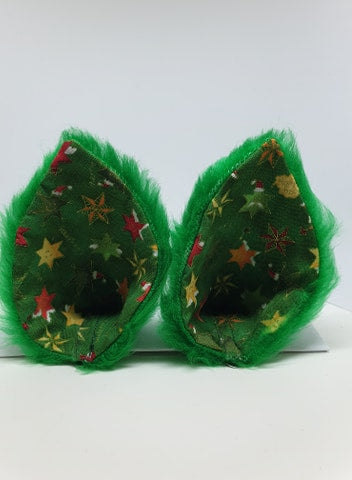 Green Christmas Ears