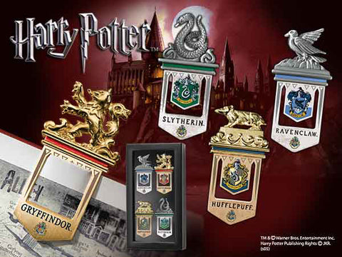 Hogwarts Bookmarks 4 Set Harry Potter