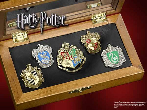 Hogwarts Houses Pin Collection Harry Potter