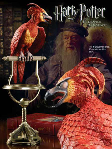 Fawkes the Phoenix Statue Harry Potter