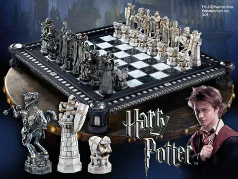 The Final Challenge Chess Set Harry Potter