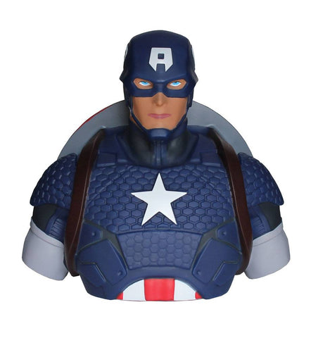 Captain America Bust Bank Marvel Comics