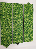 Green Pixels Headband