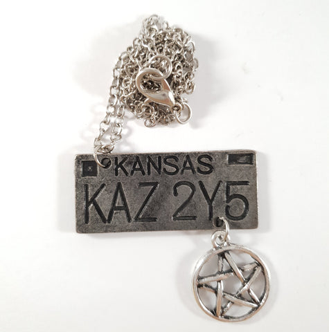 Impala Number Plate Necklace