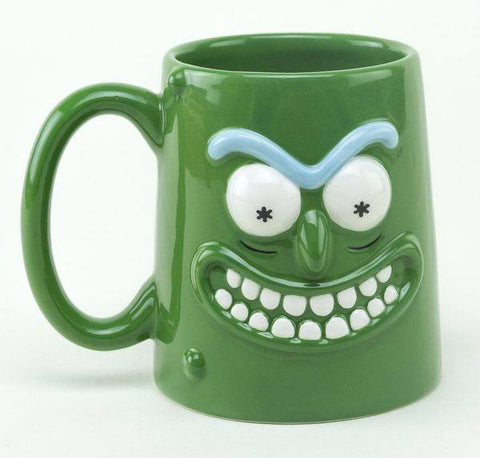 Pickle Rick 3D Mug