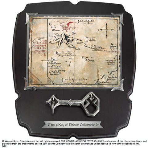 Thorin´s Oakenshield´s Map & Key Replica 1/1 Deluxe The Hobbit