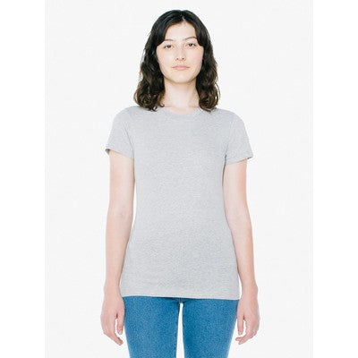 American Apparel Womens Fine Jersey Short Sleeve Tee Colour