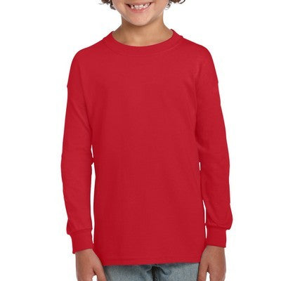 Gildan Ultra Cotton Youth Long Sleeve T-Shirt Colours