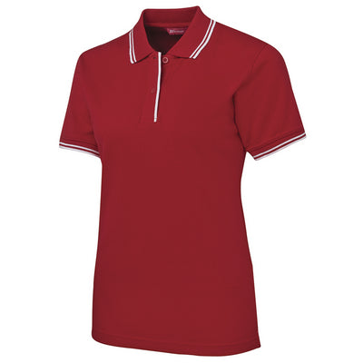 JBs Ladies Contrast Polo