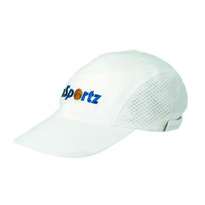 Cotton Sports Cap w. Mesh Sides