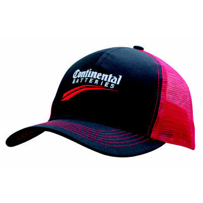Mesh Back Breathable Poly Twill Cap