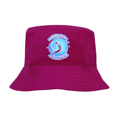 Poly Twill Childs Bucket Hat