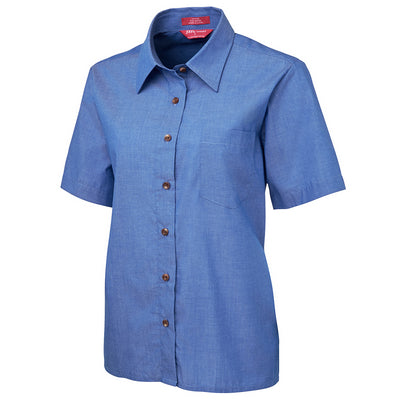 JbS Ladies Original S/S Indigo Chambray Shirt