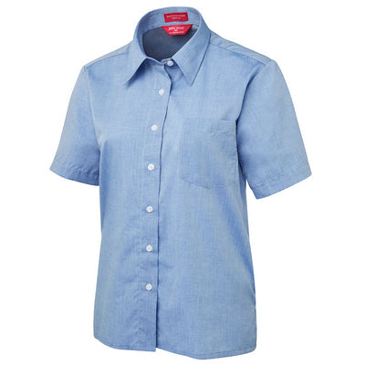 JbS Ladies Original S/S Fine Chambray Shirt