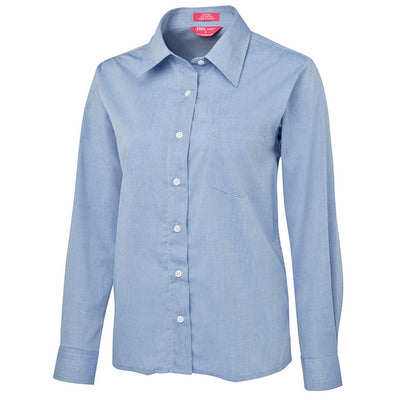 JbS Ladies Original L/S Fine Chambray Shirt