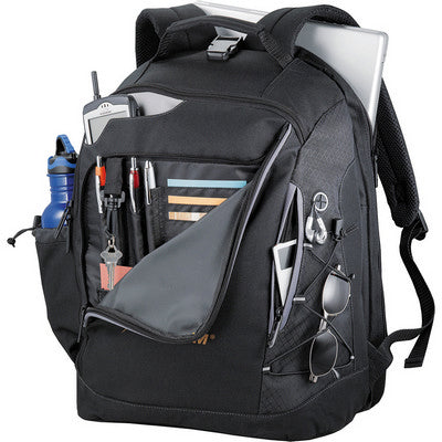 Summit TSA 15 inch Computer Backpack - Black