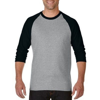 Gildan Heavy Cotton 3/4 Raglan T-Shirt Colours