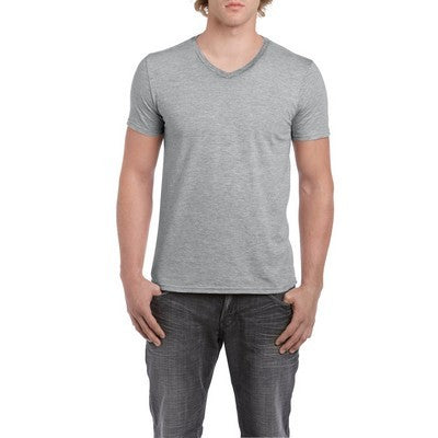 Gildan Sofystyle Adult V-Neck T-Shirt Colours