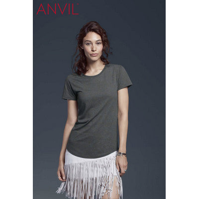Anvil Women's Tri-Blend Tee Colours