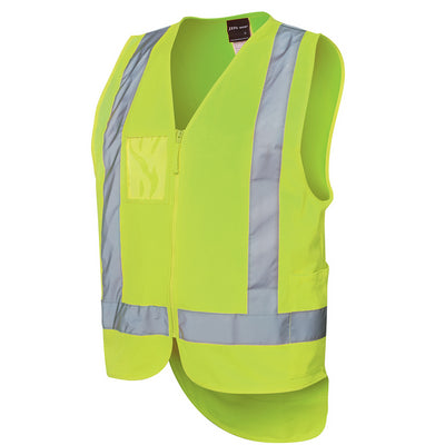 JBs Hi Vis Drop Tail H Pattern (D+N) Vest