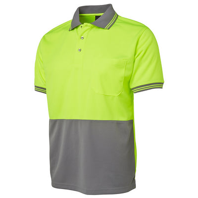 JBs Hi Vis S/S Traditional Polo